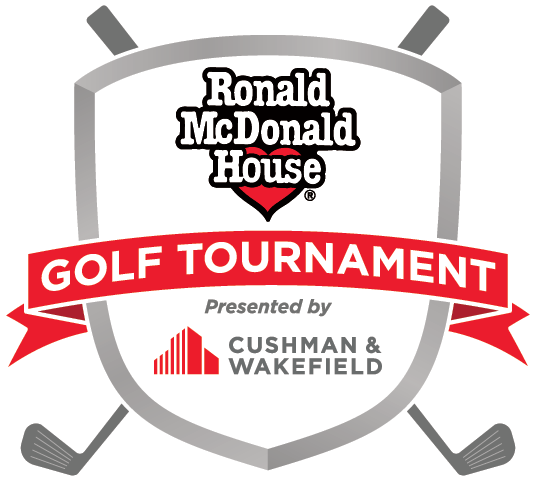 Cushman and Wakefield / Ronald McDonald House Golf Tournament Logo