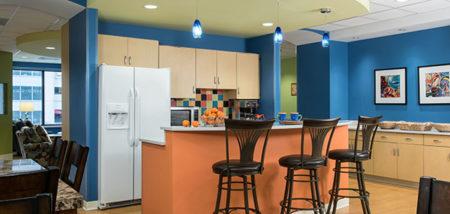 Family room program expansion ronald mcdonald house for Ronald mcdonald family room