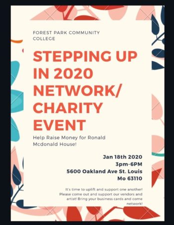 Forest Park Community College Stepping Up in 2020 Networking/Charity Event @ Forest Park Community College